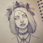 1001 ideas draw girl