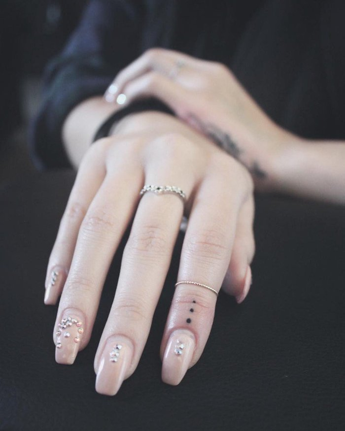 Dot Tattoo On Finger Meaning : tattoo, finger, meaning, Tattoo, Meaning, Image, Collection