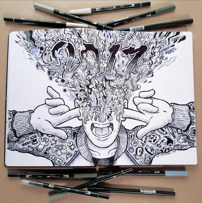 1001  ideas for cool things to draw  photos and tutorials