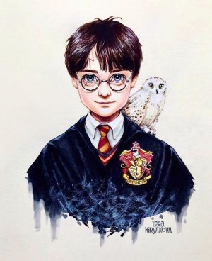 potter harry drawing draw things easy drawings cool portrait beginners hedwig styles gryffindor archzine bored stunning 1001