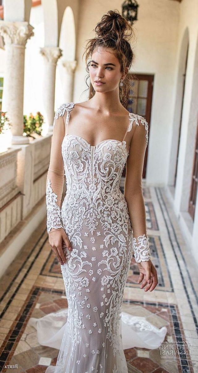 ▷ 1001 + ideas for gorgeous long sleeve wedding dresses