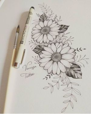 flowers flower pencil easy drawing draw sketch drawings simple background tutorials 1001