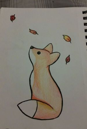 draw drawings easy drawing cool fox bored simple looking colored improve animal harunmudak colorful sketches archzine concentration doodling help some