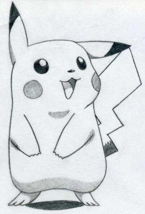 easy drawing draw drawings pencil bored sketches sketch beginners pikachu cool improve harunmudak pokemon concentration cartoon help try animal memory