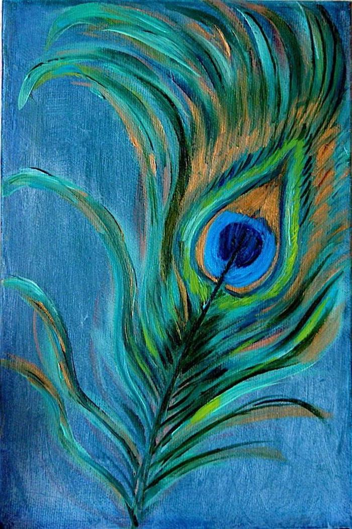 Colors Starry Night Painting
