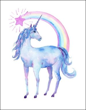 unicorn easy drawing realistic draw rainbow watercolor painting tutorials drawings 1001 mystical archziner creatures sketch head motion paintings painted mythical