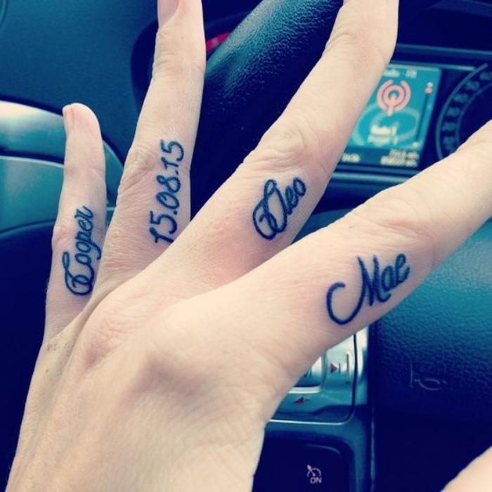 1001 Ideas De Los Tatuajes De Nombres Más Interesantes Con Fotos