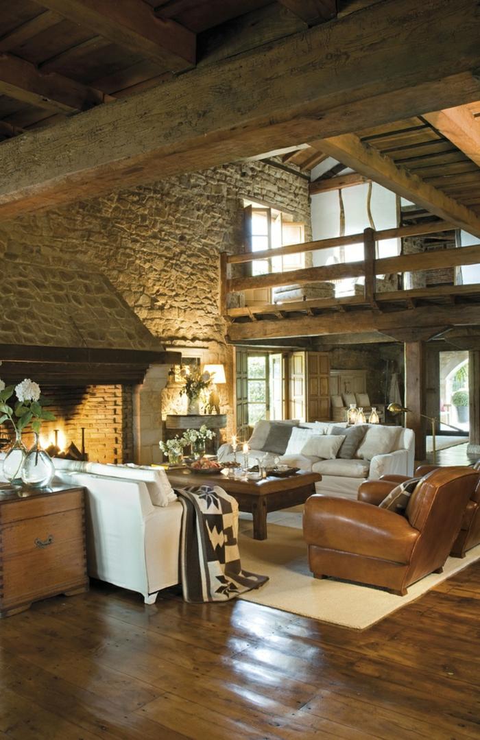 1001 Ideas como decorar un salon en estilo rstico
