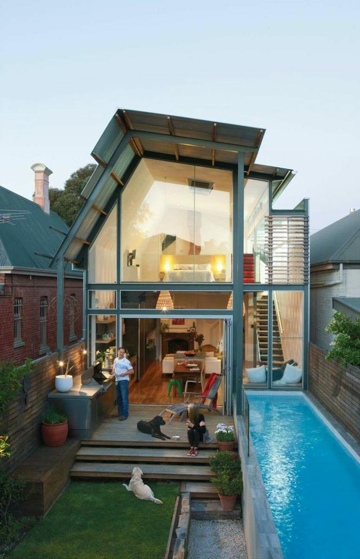 Patios De Casas Modernas Elegant Patio Trasero Diseo