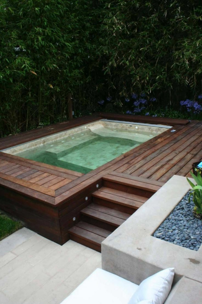 1001  Ideas de piscinas pequeas para tu patio
