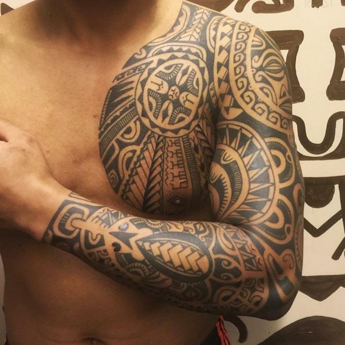 Tatuajes Antebrazo Maori Interesting Tatuaje Antebrazo With Tattoo
