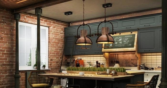 1001  ideas de diseo de cocinas de estilo industrial