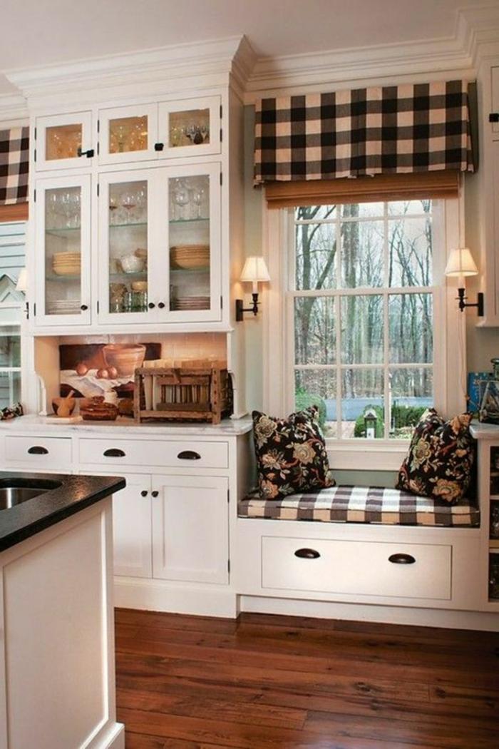 1001  ideas de cortinas de cocina encantadoras en diferentes estilos