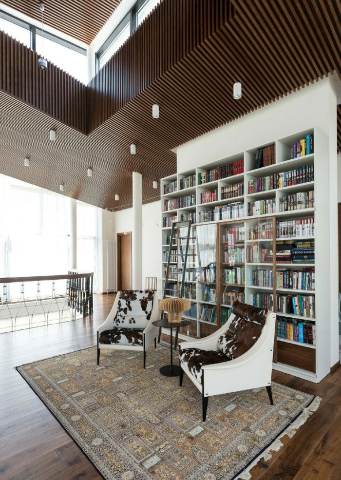 1001  Ideas de decoracin con libreras para tu casa