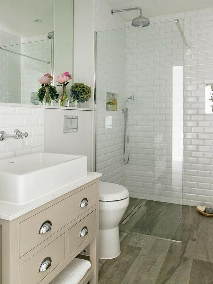 1001  Ideas de decoracion para baos pequeos con ducha