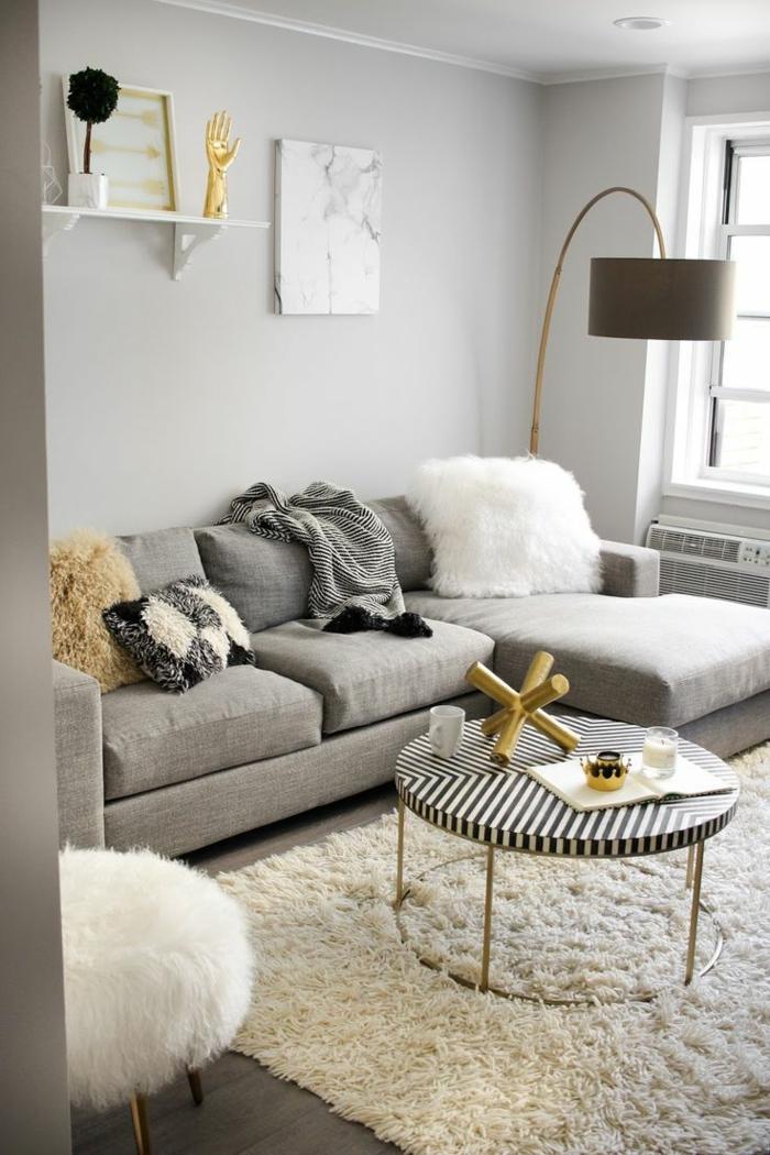 1001  ideas sobre decoracin saln gris y blanco