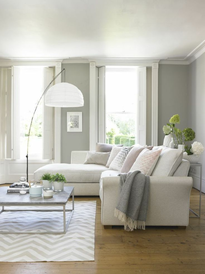 1001  ideas sobre decoracin saln gris y blanco