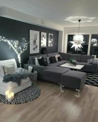 ▷ 1001 + ideas sobre decoración salón gris y blanco