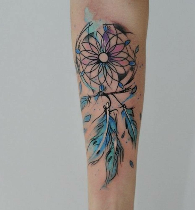 1001 Ideas Sobre Tatuajes De Plumas Con Encanto