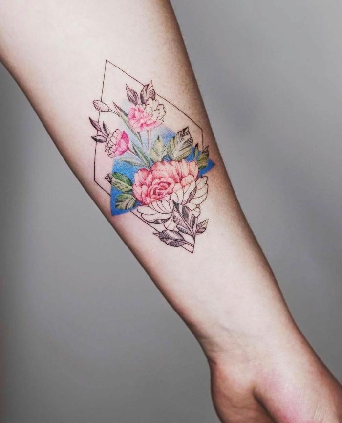 Tatuajes A Color Para Mujeres En El Brazo