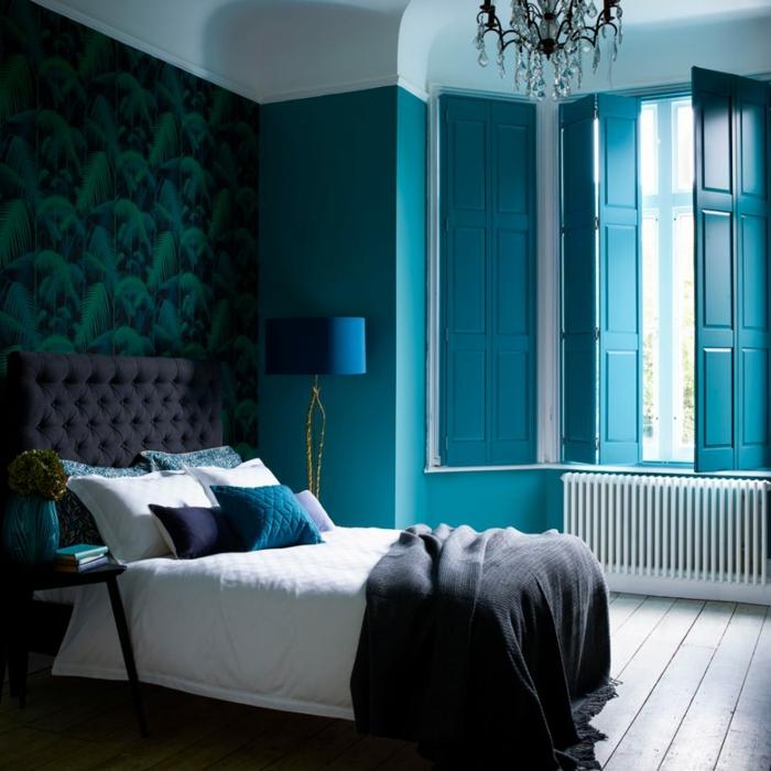 Habitacion Azul Y Gris 2 Pintar Salon en Plastico Rosa