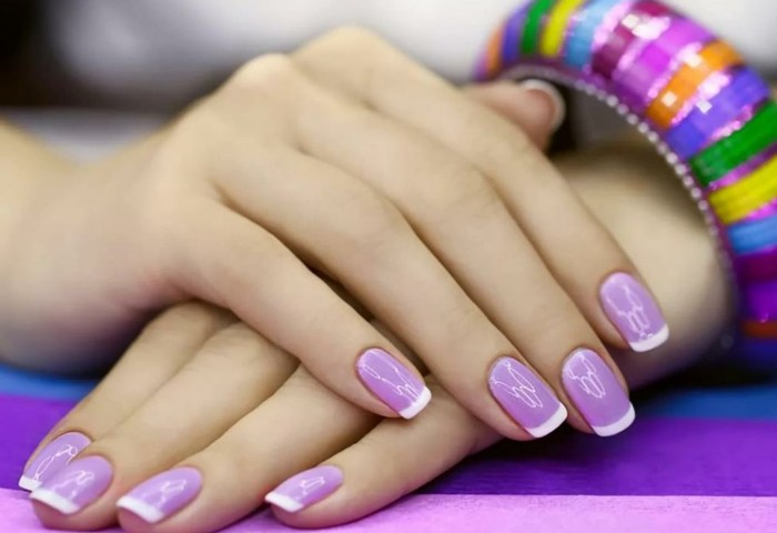 1001 Ideas Sobre Uñas Francesas Decoradas 2018