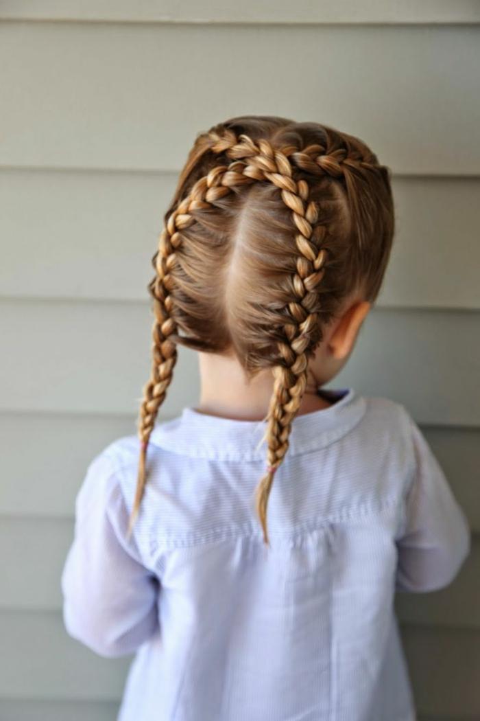 1001 Ideas Para Peinados Fciles Para Nias Con Trenzas