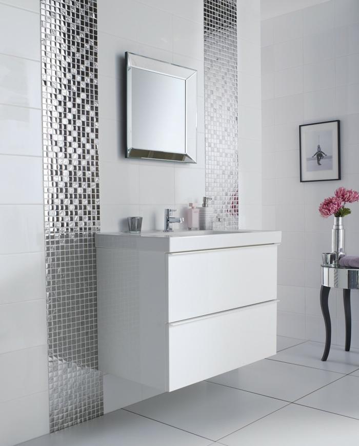 1001  ideas de decoracin de bao gris y blanco