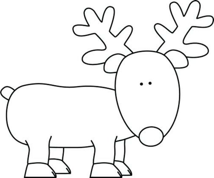 Bonitos Dibujos De Navidad Para Colorear Faciles.1001 Ideas De Dibujos Navideos Para Colorear