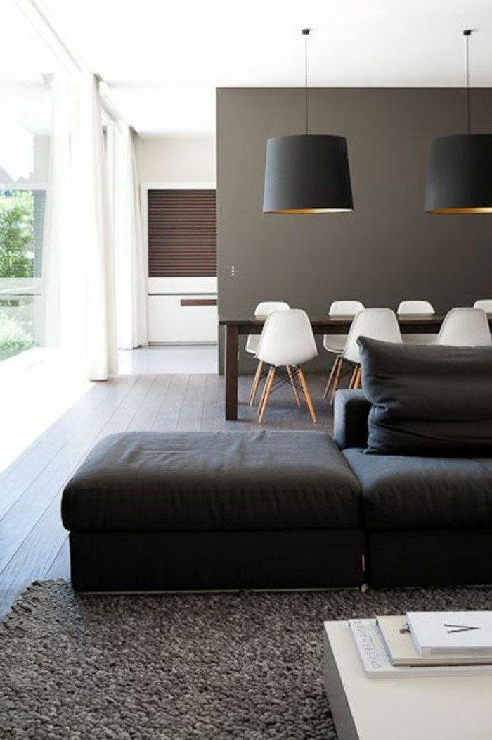 1001  ideas de colores que combinan con gris para decorar