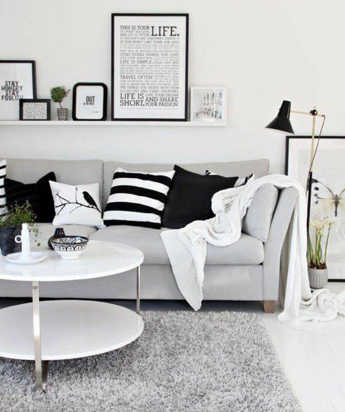 1001  ideas de decoracin de habitacin gris y blanca
