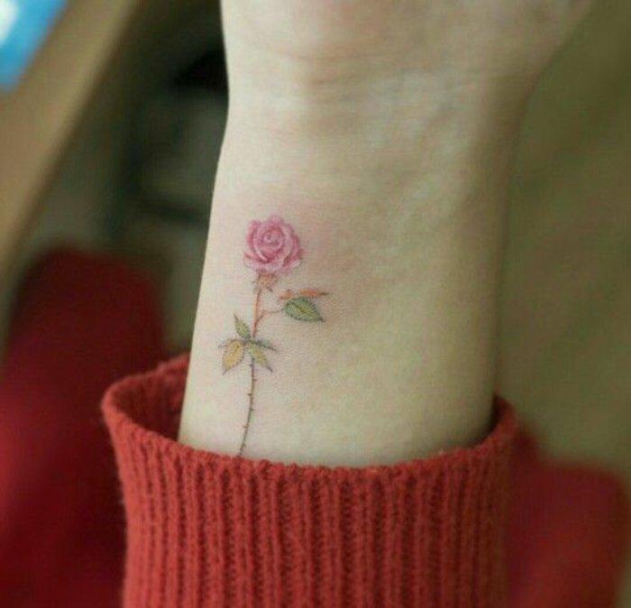 1001 Ideas De Preciosas Diseños De Tatuaje Flor