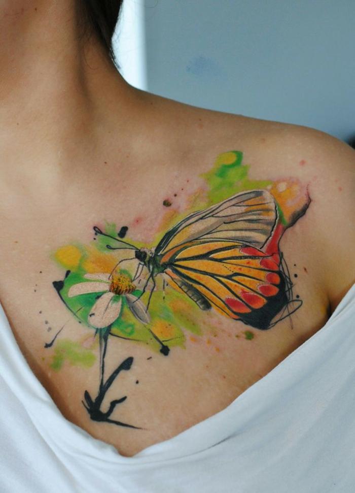 1001 Ideas De Tatuajes De Mariposas Super Bonitos