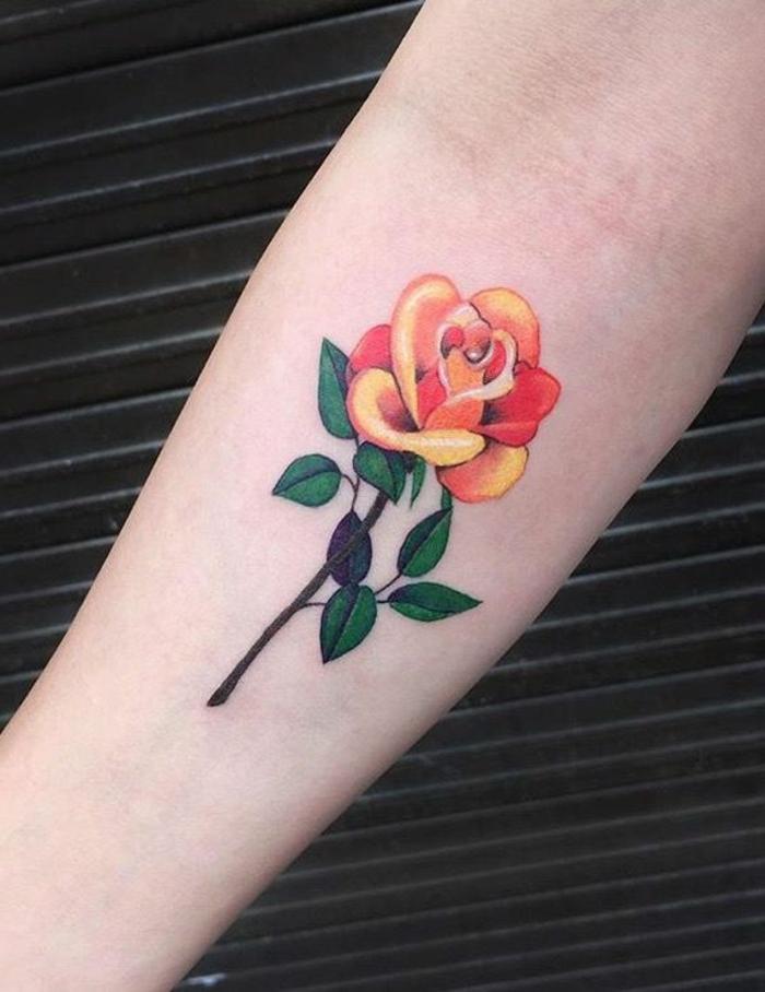 1001 Ideas De Tatuajes De Rosas Super Bonitos Con Fuerte