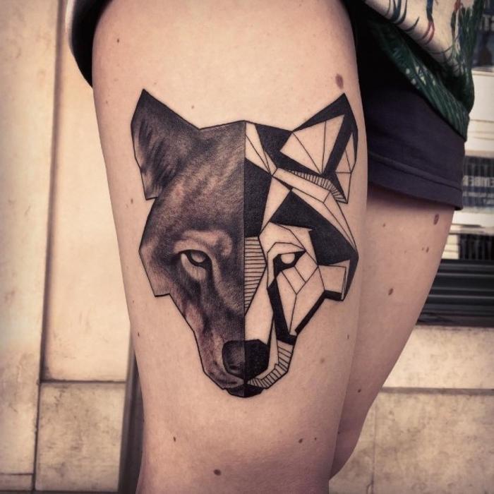 1001 Ideas De Diseños De Tatuajes Lineales En 60 Imagines