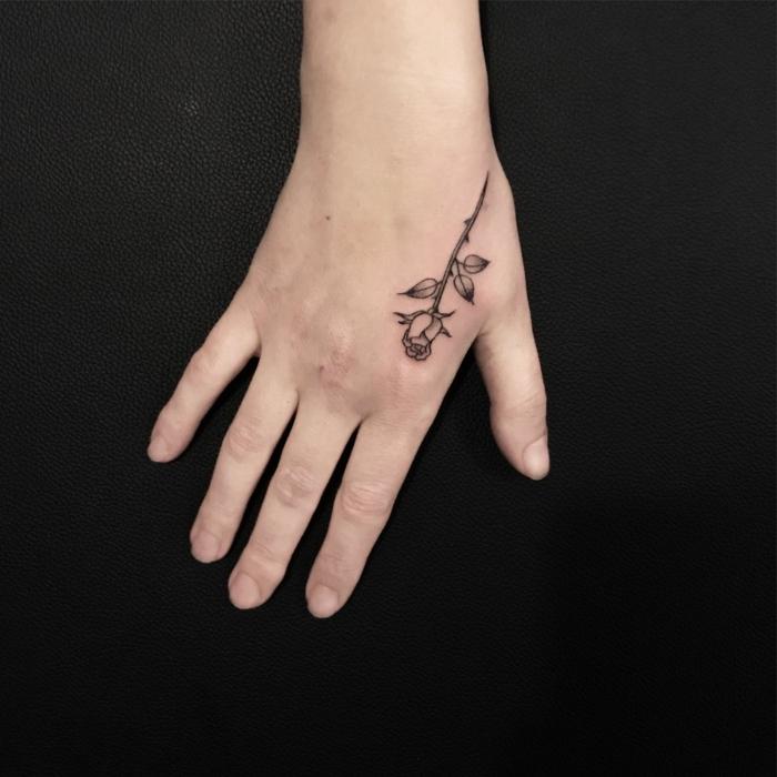 1001 Ideas De Tatuajes En La Mano Y Sus Significados