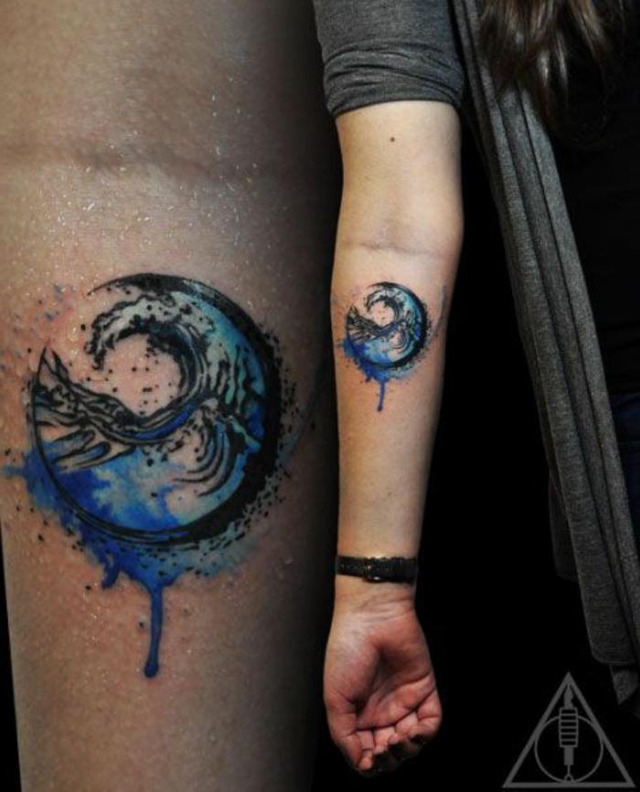 1001 Ideas De Tatuajes Acuarela Para Hombres Y Mujeres
