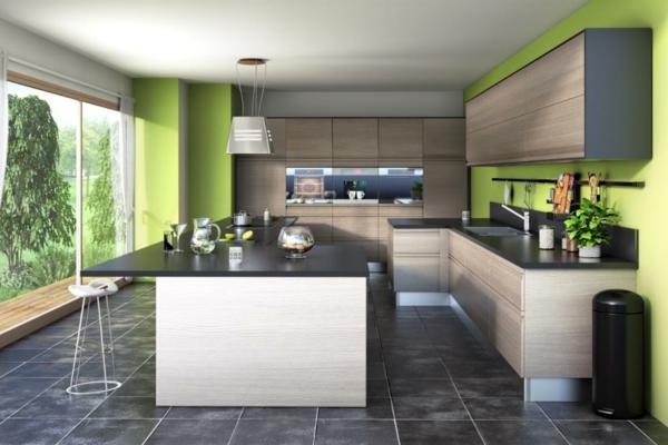 Une cuisine lapeyre  modle de style et confort
