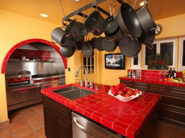 plan de travail cuisine inox