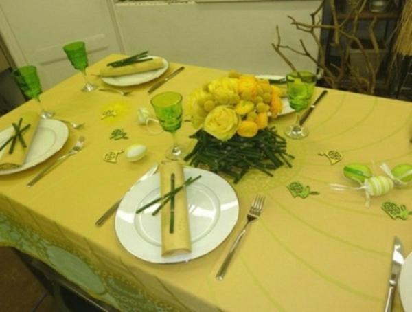 Comment dcorer une table souffle de printemps 58 photos  Archzinefr