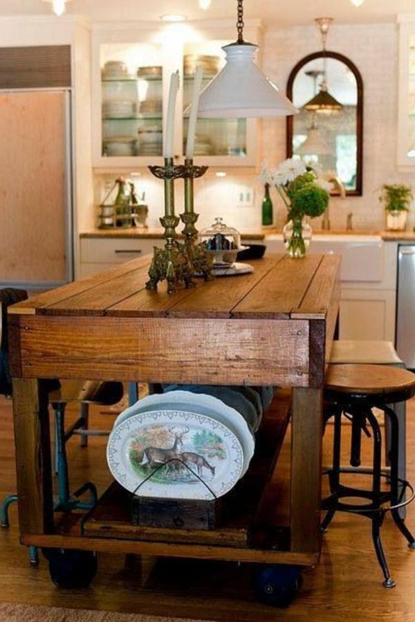 petit meuble de cuisine avec plan de travail