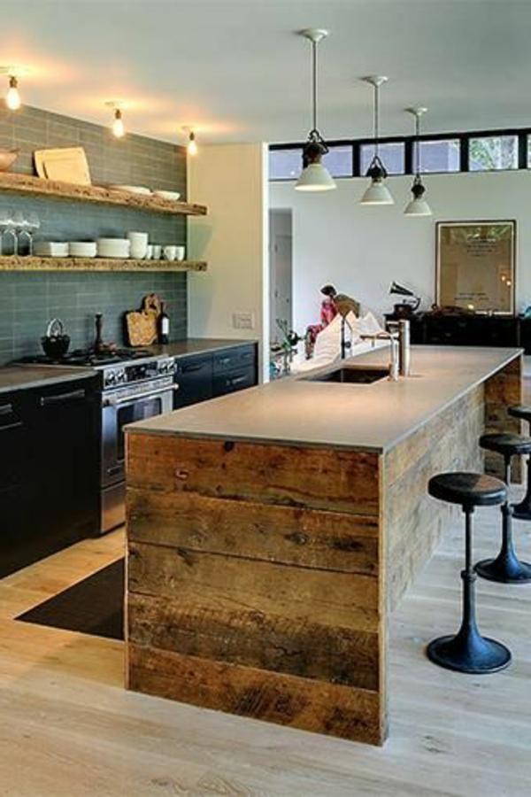 ilot central pour petite cuisine