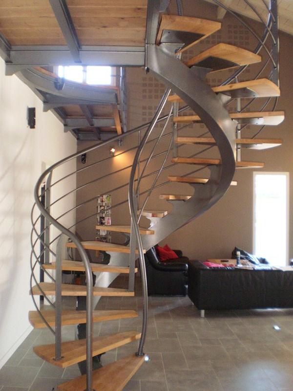 Design d escalier hlicodal  Archzinefr
