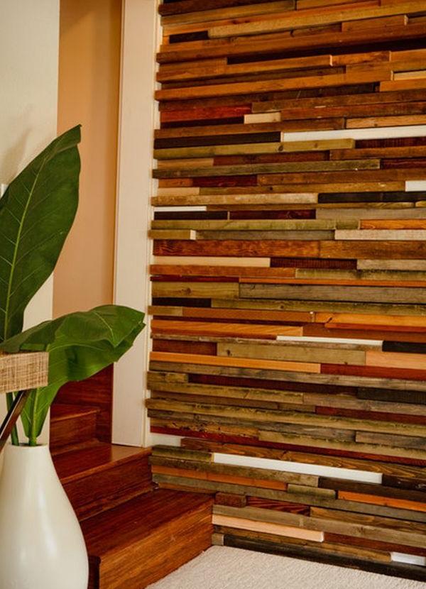 Une dcoration en bois pour le mur