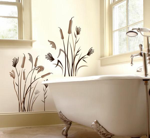 Stickers muraux salle de bain  Wikiliafr