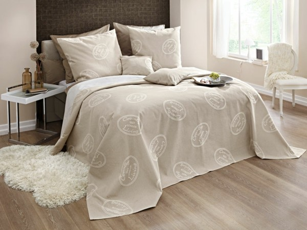 Le linge de lit design  la subtile impression de luxe indispensable