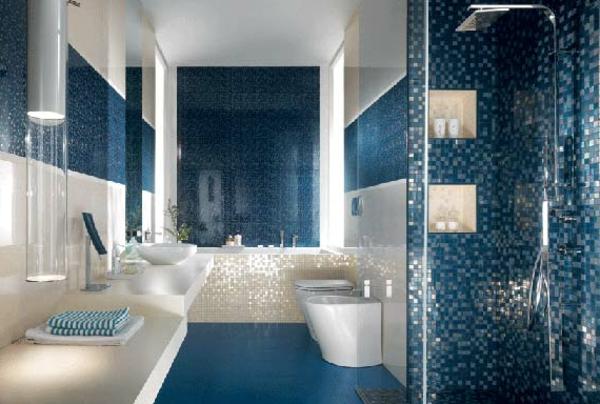 Salle De Bain Bleu Lagon Bains Turquoise Possini Euro Ifmore