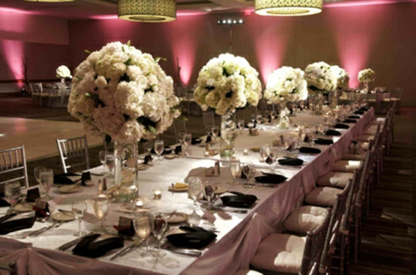 La dcoration de table de mariage  des ides fascinantes pour le grand jour  Archzinefr