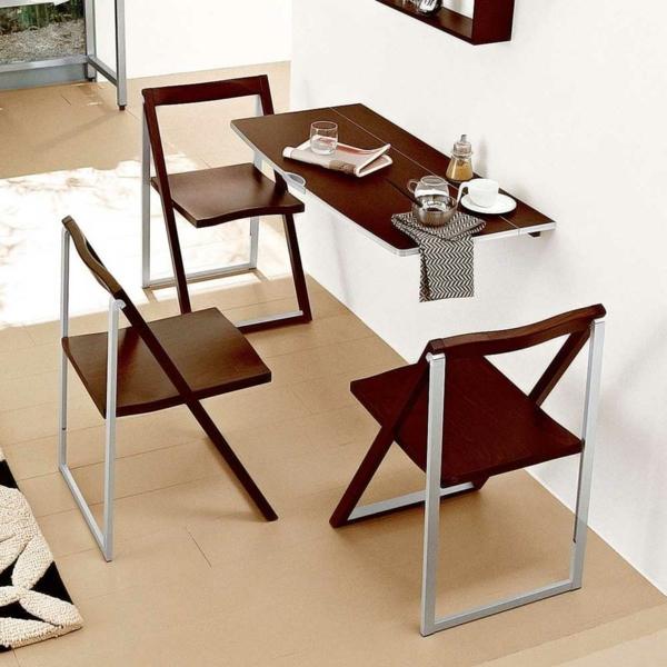 La Table Murale Rabattable Est Un Meuble Moderne Qui