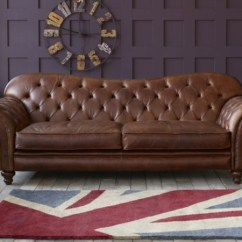 Vintage Leather Sectional Sofa French Provincial And Chair Le Canapé Cuir - Chic Et Fabuleux Confort ...